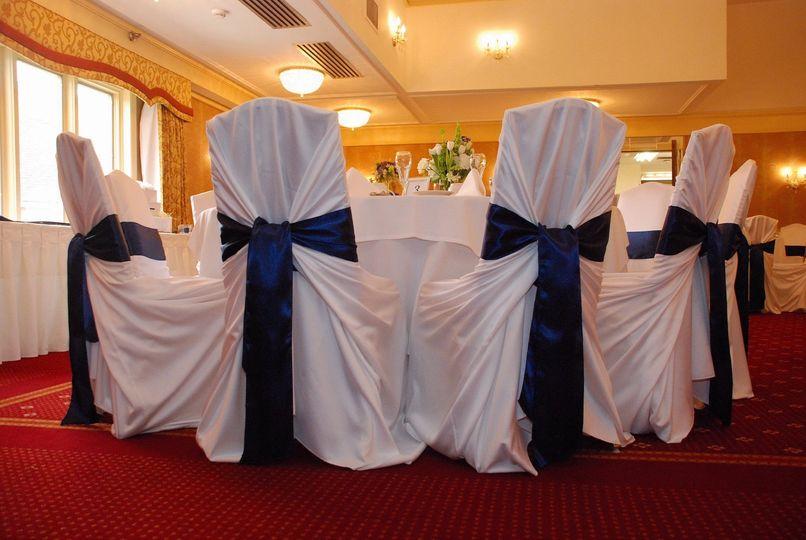 ballroom chair covers