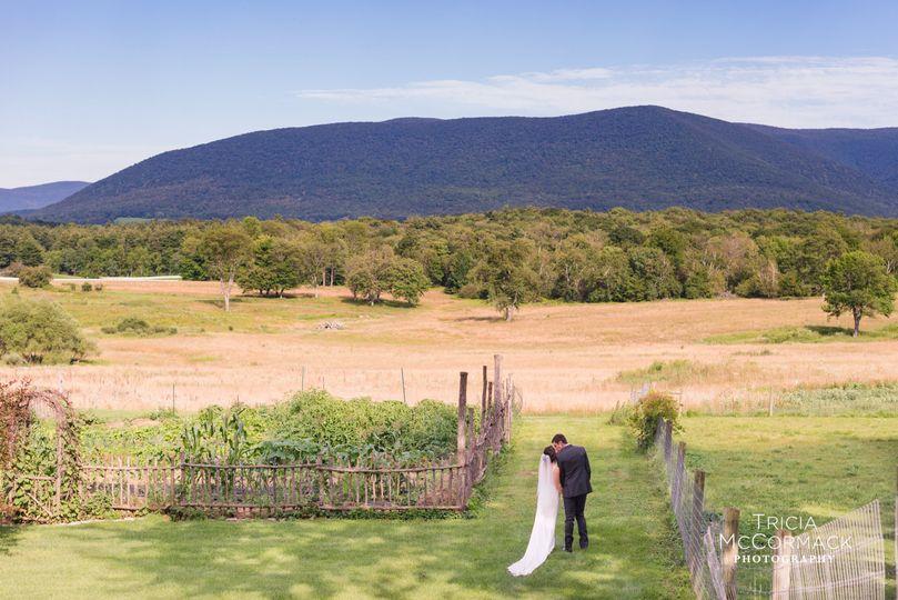 Beautiful wedding in the Berkshires