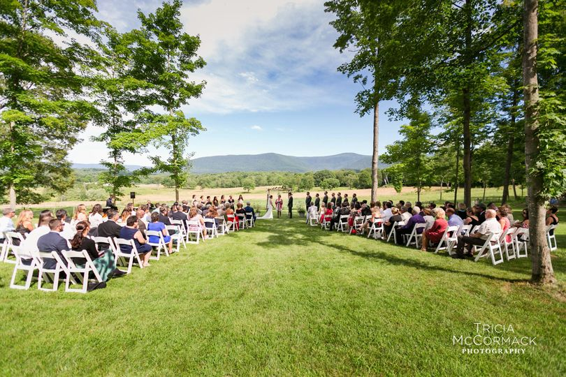 Breathtaking ceremony views