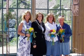 Enchanted Wedding of Santa Fe Rev Sharon Lewis