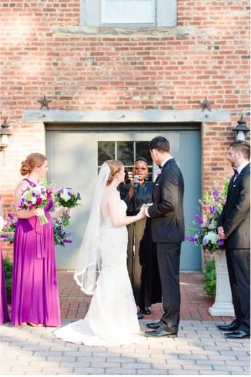 VA wedding officiant
