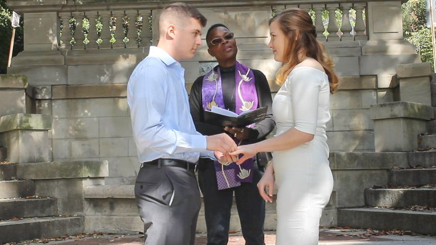 DC elopement officiant
