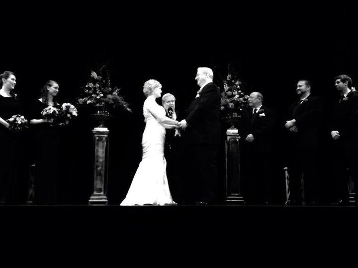 Greg and Mary Rita at the Bickford Theatre -- November 14, 2014