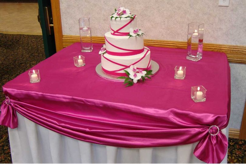 pink country inn suites mankato cake table lo