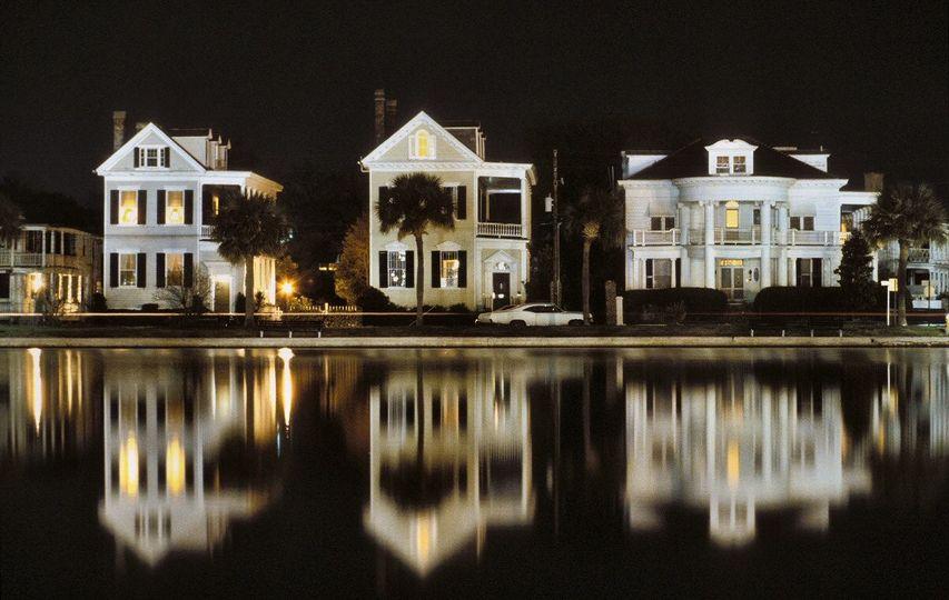 colonial lake reflections