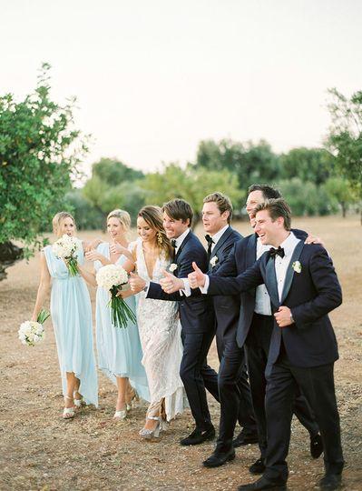 Bridal Party in Puglia