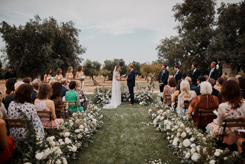 Ceremony in Puglia