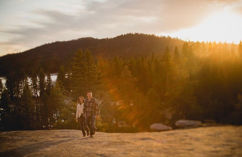 Engagement shoot - Yosemite,CA