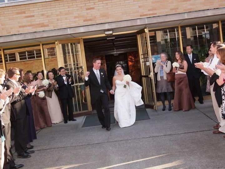Tmx 1403021708113 Couple Exiting Into Courtyard Without Watermark Kenmore, Washington wedding venue