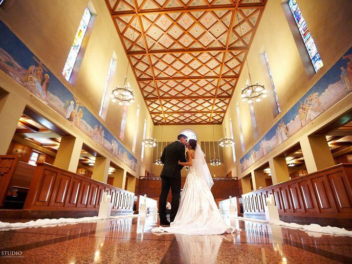 Tmx 1403021811993 Bride  Groom In Middle Aisle Kenmore, Washington wedding venue