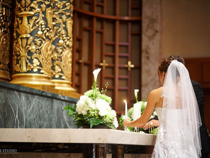 Tmx 1403022185003 Couple   Unity Candle At Altar Kenmore, Washington wedding venue