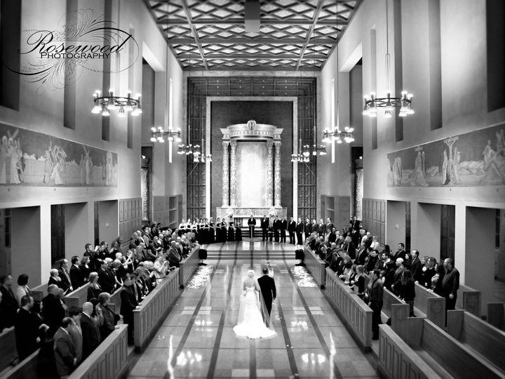 Tmx 1403022561856 Bride Down Aisle Bw Kenmore, Washington wedding venue