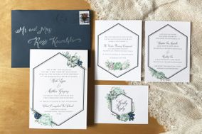 Custom Invitation Design by Nicole Kowalski