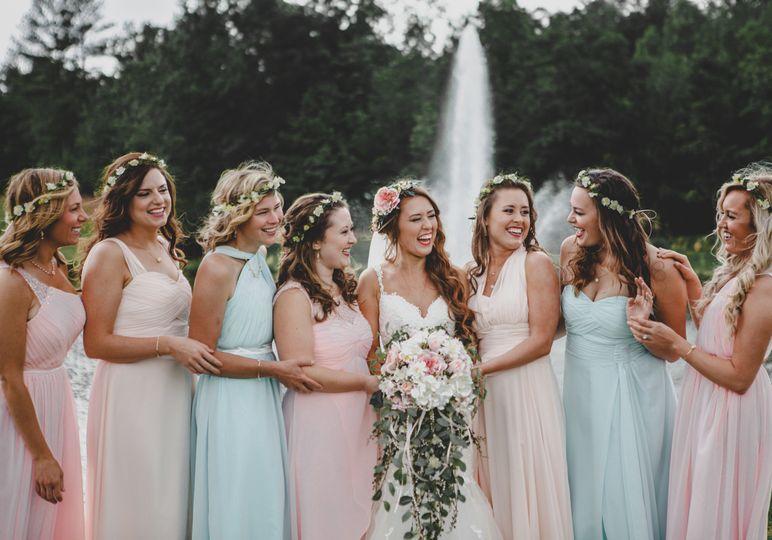 Bride w/ Bridesmaids