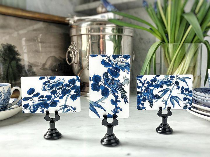 Mr. P's: Blue & White