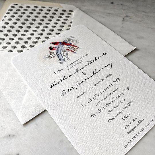 Mr. P's: Modern Invite