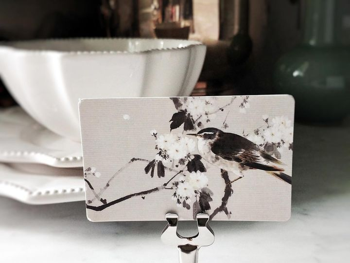 Tmx Mr Ps Place Cards Bird Of Watanabe Copy 51 1861071 1566671377 Old Chatham, NY wedding invitation