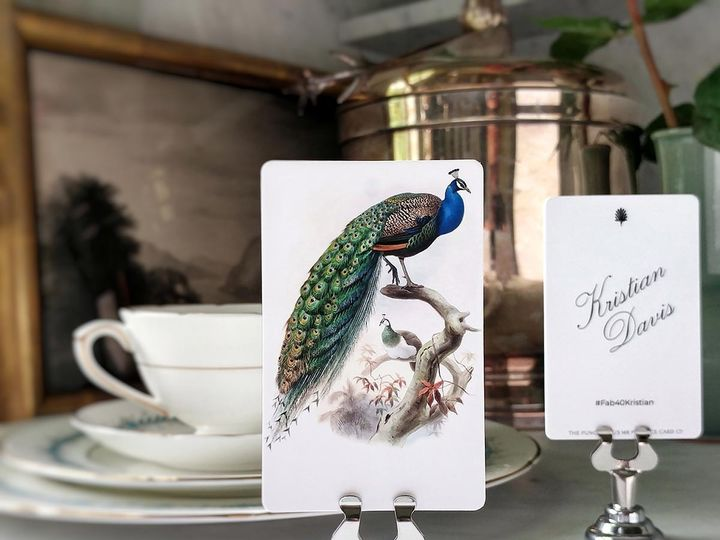Tmx Mr Ps Place Cards Eternal Peacock 51 1861071 1566670425 Old Chatham, NY wedding invitation