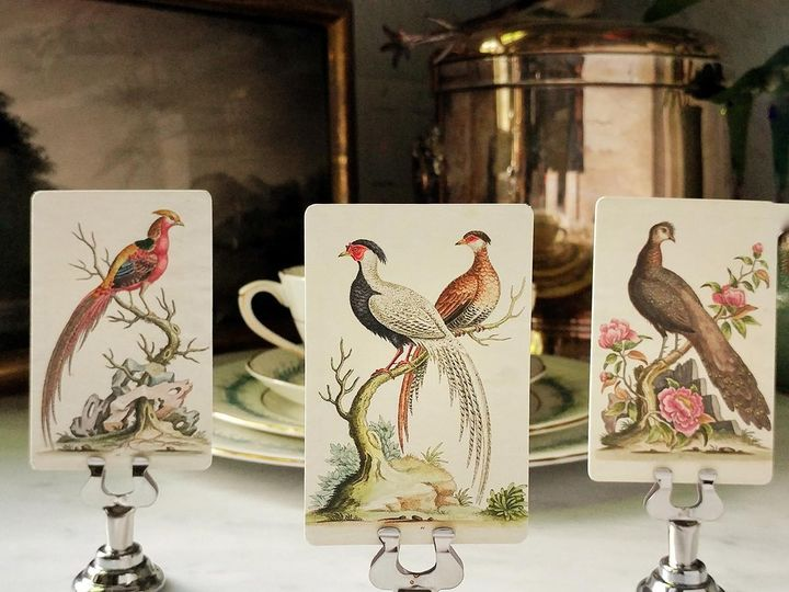 Tmx Mr Ps Place Cards Fanciful Pheasants 1 51 1861071 1566670224 Old Chatham, NY wedding invitation