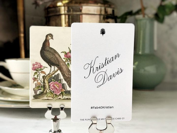 Tmx Mr Ps Place Cards Fanciful Pheasants 6 51 1861071 1566670206 Old Chatham, NY wedding invitation