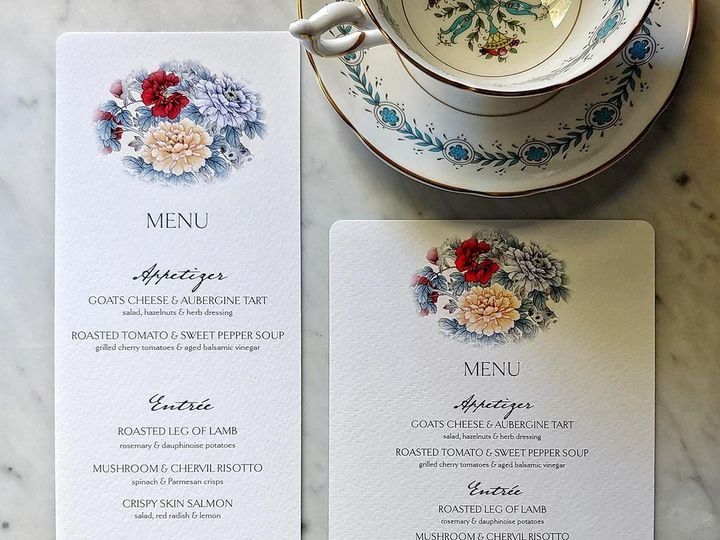 Tmx Mr Ps Place Cards Wedding Menu 11 51 1861071 1569355470 Old Chatham, NY wedding invitation