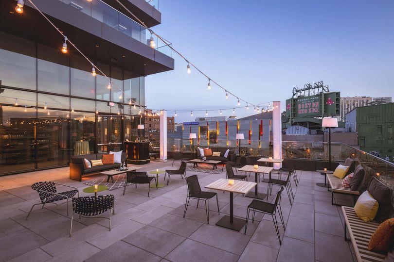 Rooftop venue