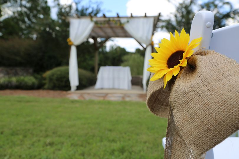 Sunflower accents
