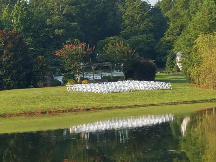 Tmx 1516550881 3fa24d656278f837 1516550878 7530a6757d87868f 1516550856460 22 CGV Pond Wedding Monroe, NC wedding venue