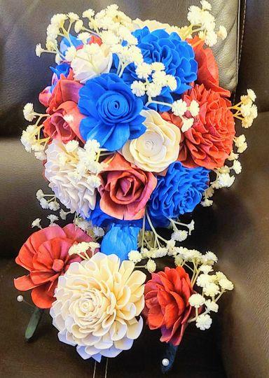Maid's bouquet, corsages