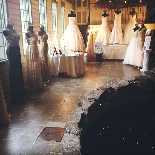 Various gowns