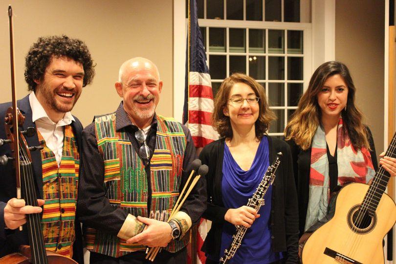 Performing at an Embassy