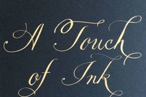 A Touch of Ink Calligraphy