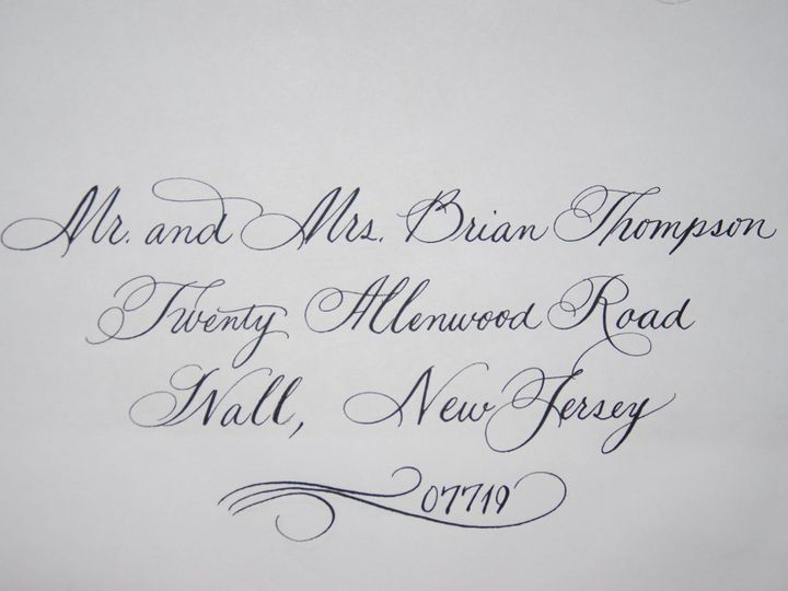 Tmx 1352816987394 NewZipcodeFlourishAugust2012 Belmar, NJ wedding invitation