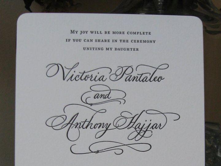 Tmx 1357100285150 VictoriaandAnthonyInvite Belmar, NJ wedding invitation