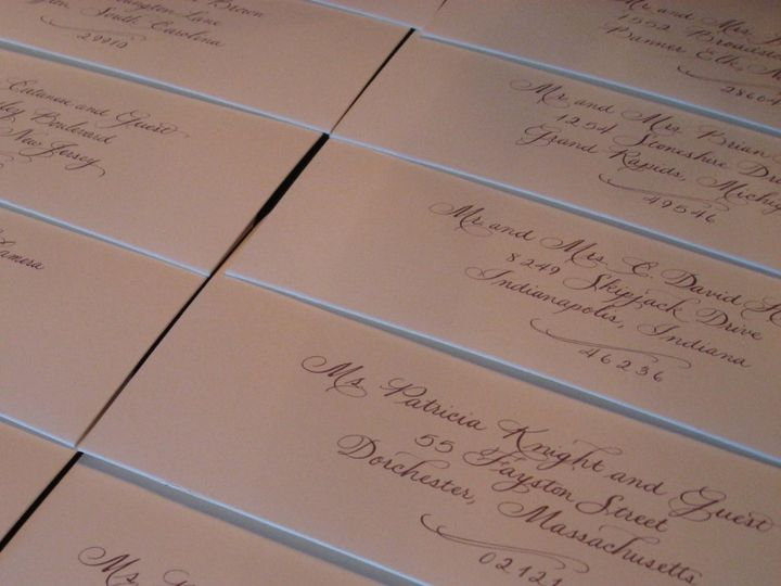 Tmx 1357100881474 Clara1 Belmar, NJ wedding invitation