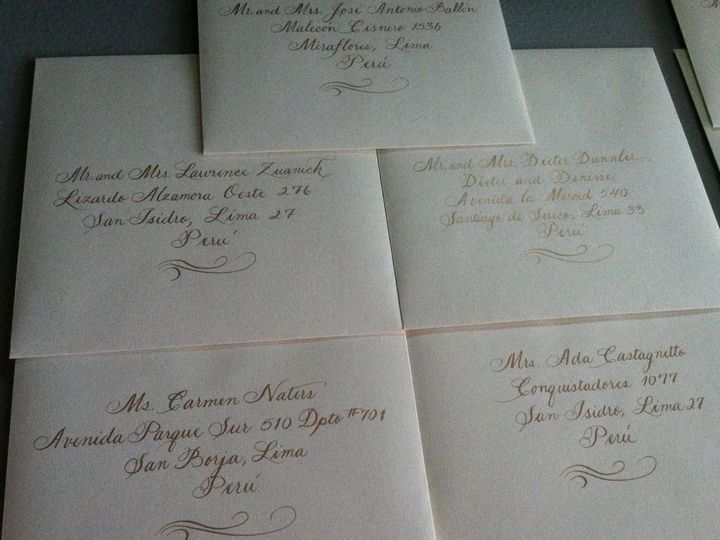 Tmx 1472668974349 Gold With Flourish   Copy Belmar, NJ wedding invitation