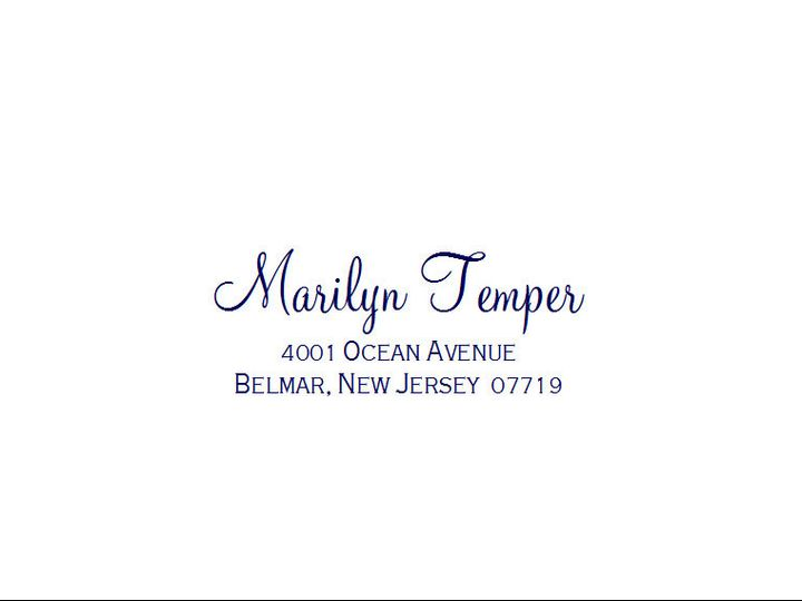 Tmx 1484275383381 Monterey Sample 11 Belmar, NJ wedding invitation