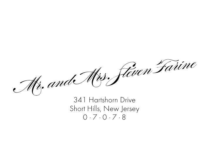 Tmx 1484275399847 Name On Slant Front Front Belmar, NJ wedding invitation