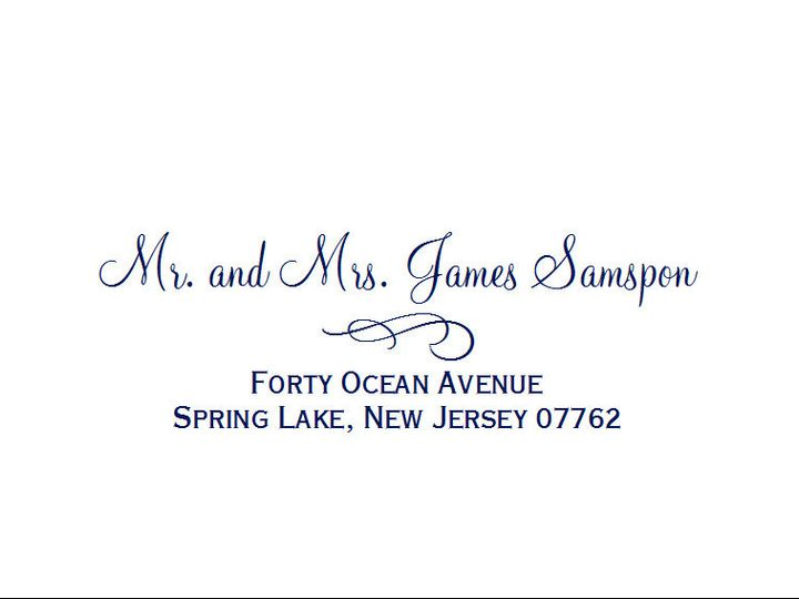 Tmx 1484275464194 Monterey Sample21 Belmar, NJ wedding invitation