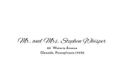 Tmx 1484275499044 2 Fonts Sample1 Belmar, NJ wedding invitation