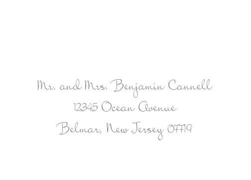 Tmx 1484275787508 Mrs Blackfort Sample Belmar, NJ wedding invitation