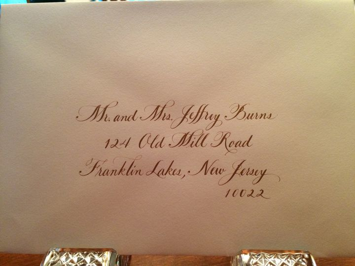 Tmx 1504220742201 Sample 1 Gold Ink Belmar, NJ wedding invitation