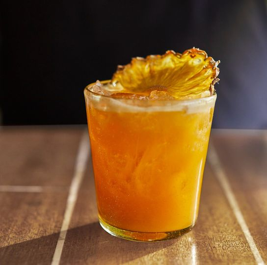 Crafted cocktail