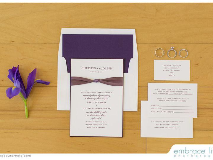 Tmx 1387239919530 Lowry00 Simi Valley wedding invitation