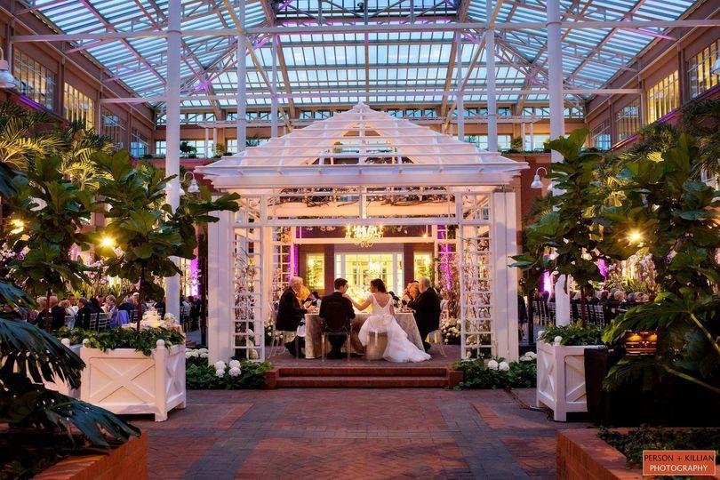 Wedding private reception