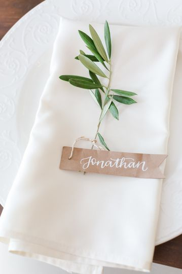 Casual Elegance Table Detail