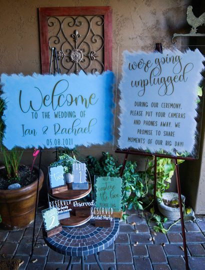 Lots of sign options