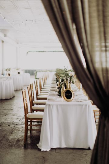 Industrial reception venue