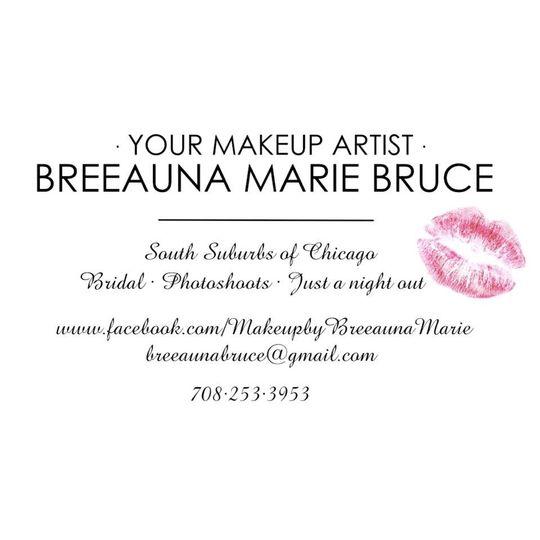 Makeup By Breeauna Marie Bruce