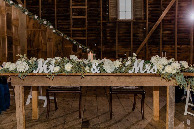 Ceremony garland re-purposed
